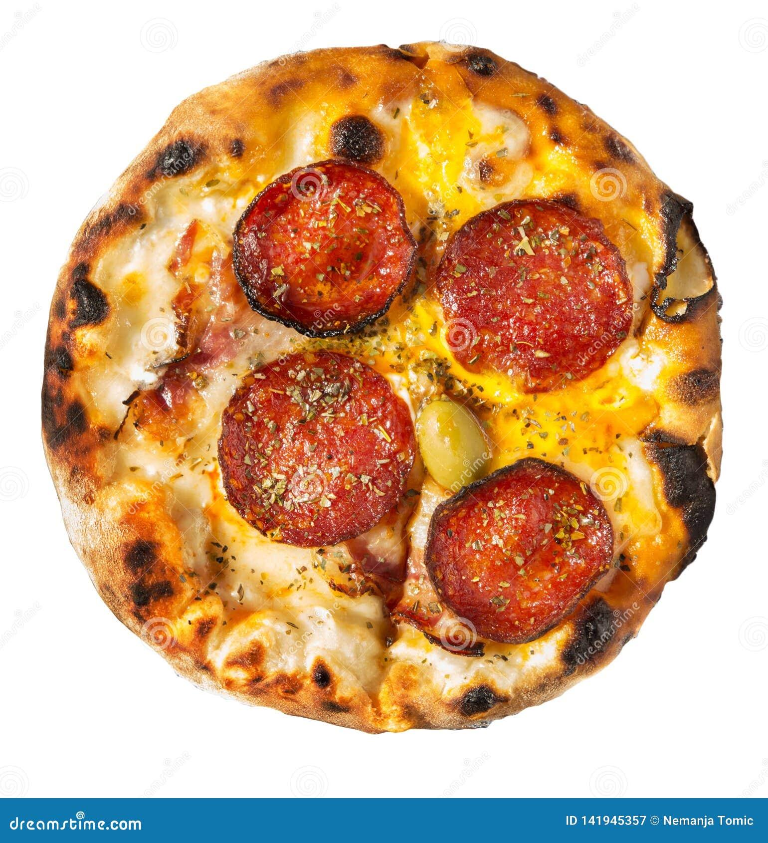 изолированная пицца