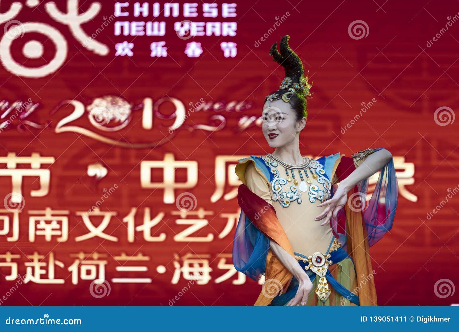 Китайский Новый Год 2019 - портрет
