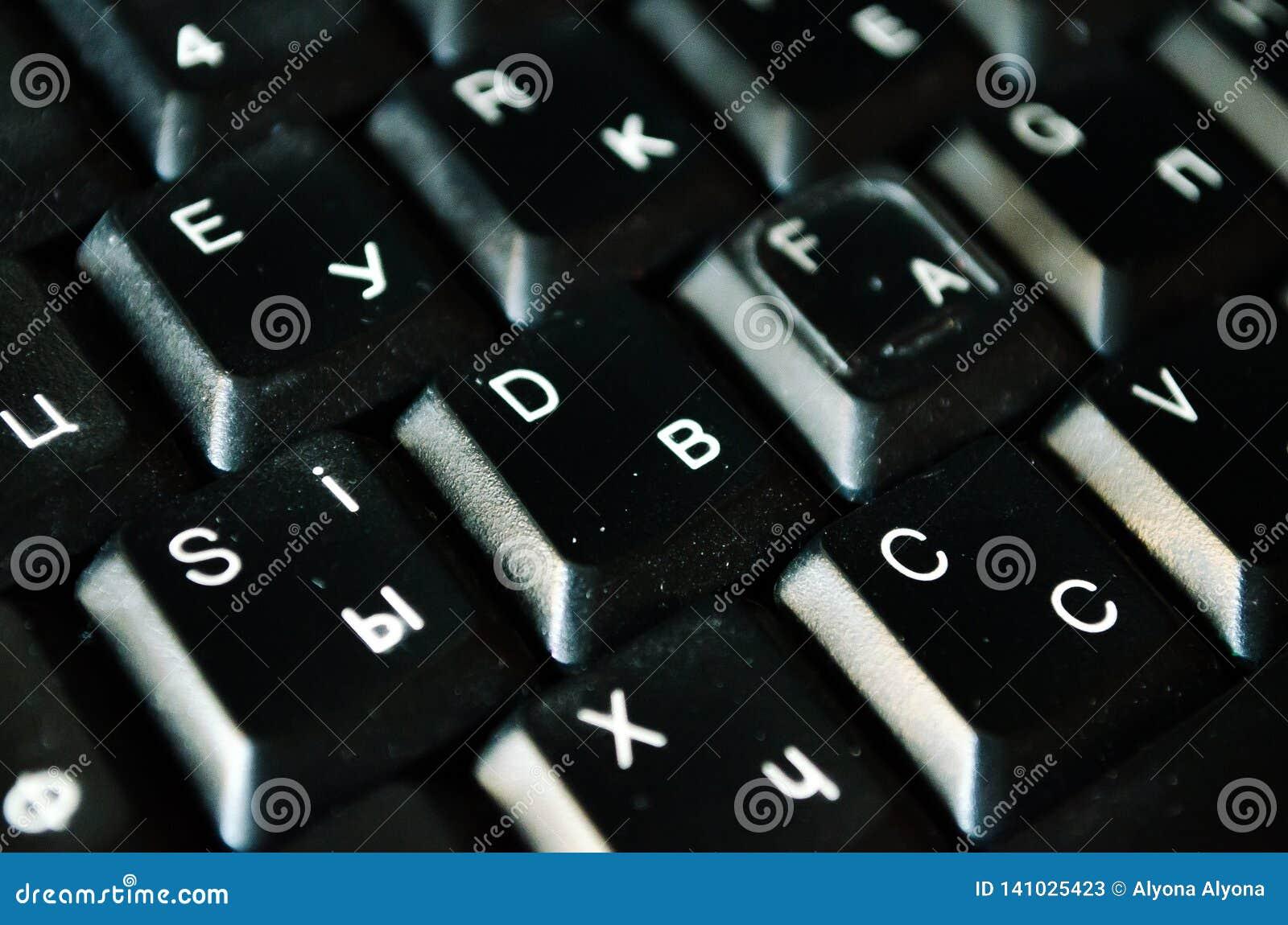 Клавиатура Черная клавиатура кнопки на клавиатуре печатать на машинке Напечатанный текст алфавит принципиальная схема компьютера