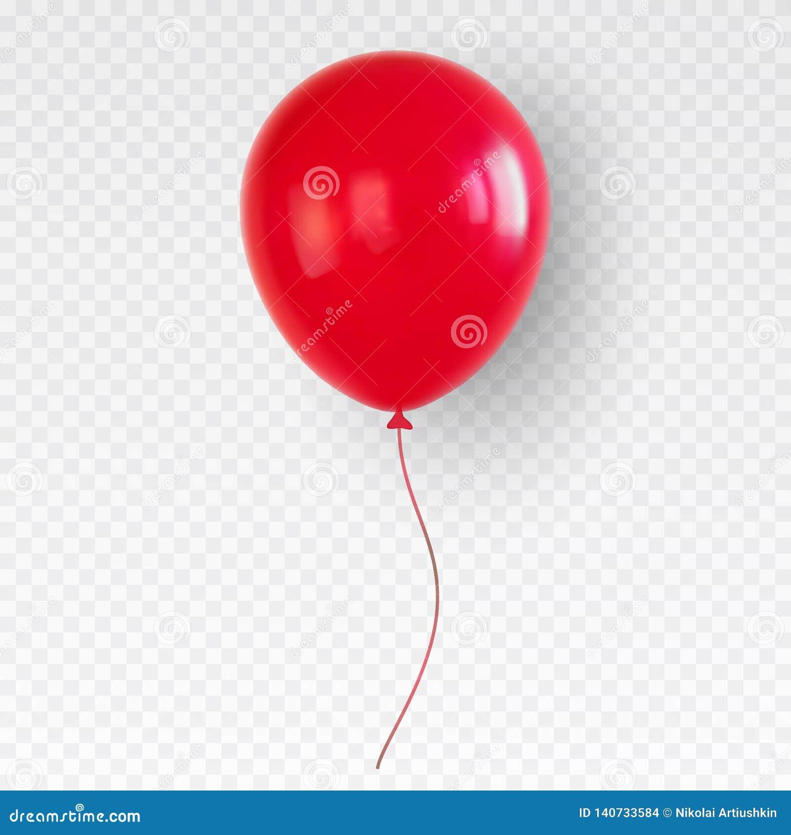 Красный воздушный шар гелия Baloon дня рождения летая для партии