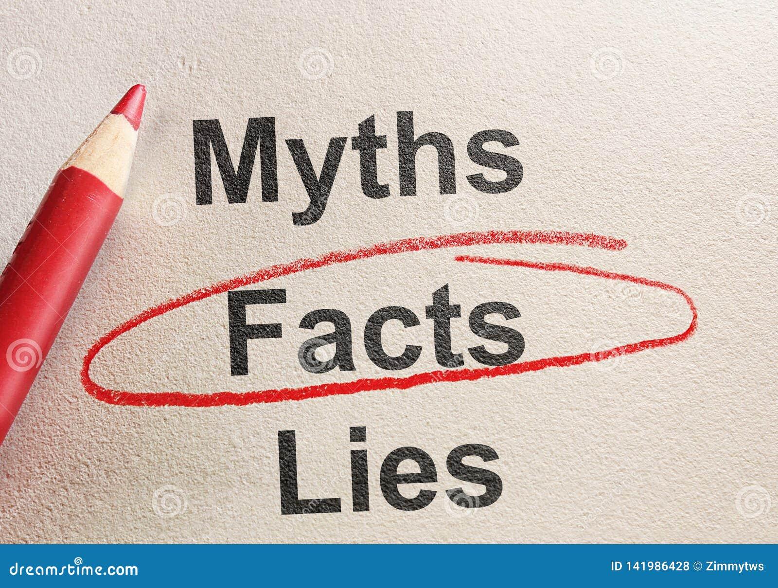 Лож и мифы фактов