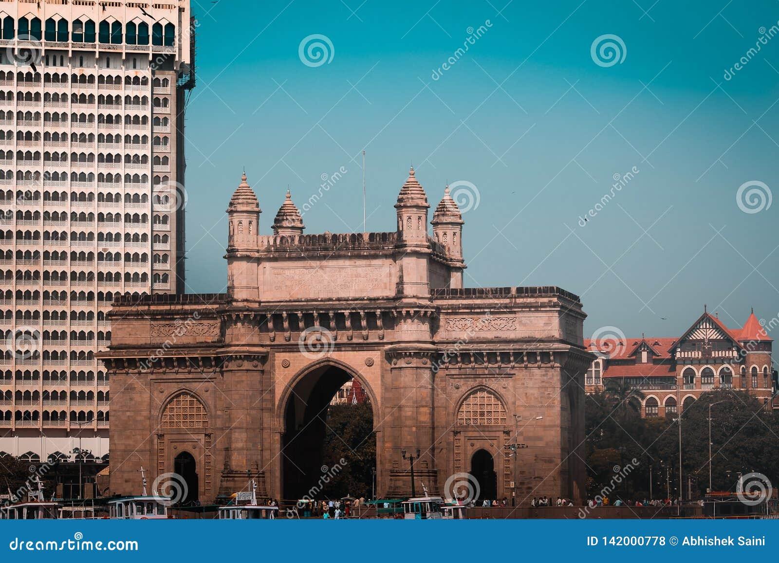 Мумбай, Индия, 12-Mar-2019, ворот Индии mumbai