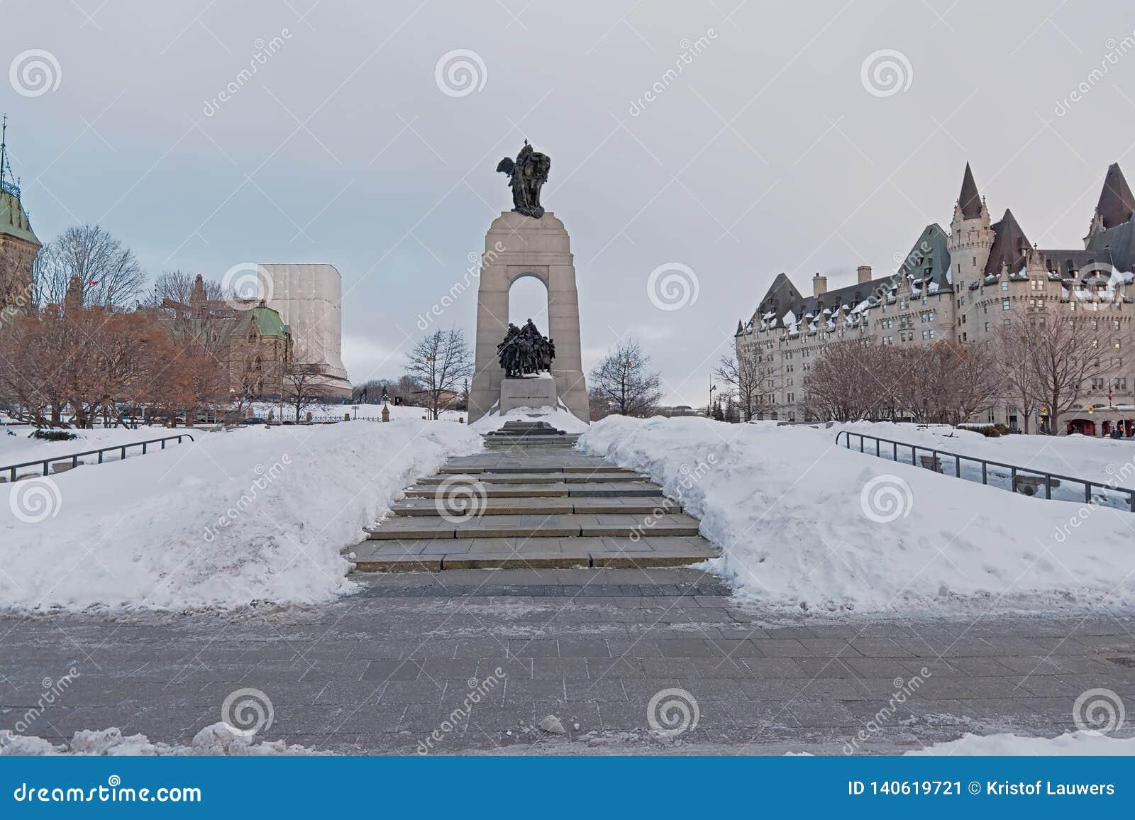 Национальный военный мемориал, Оттава, Канада
