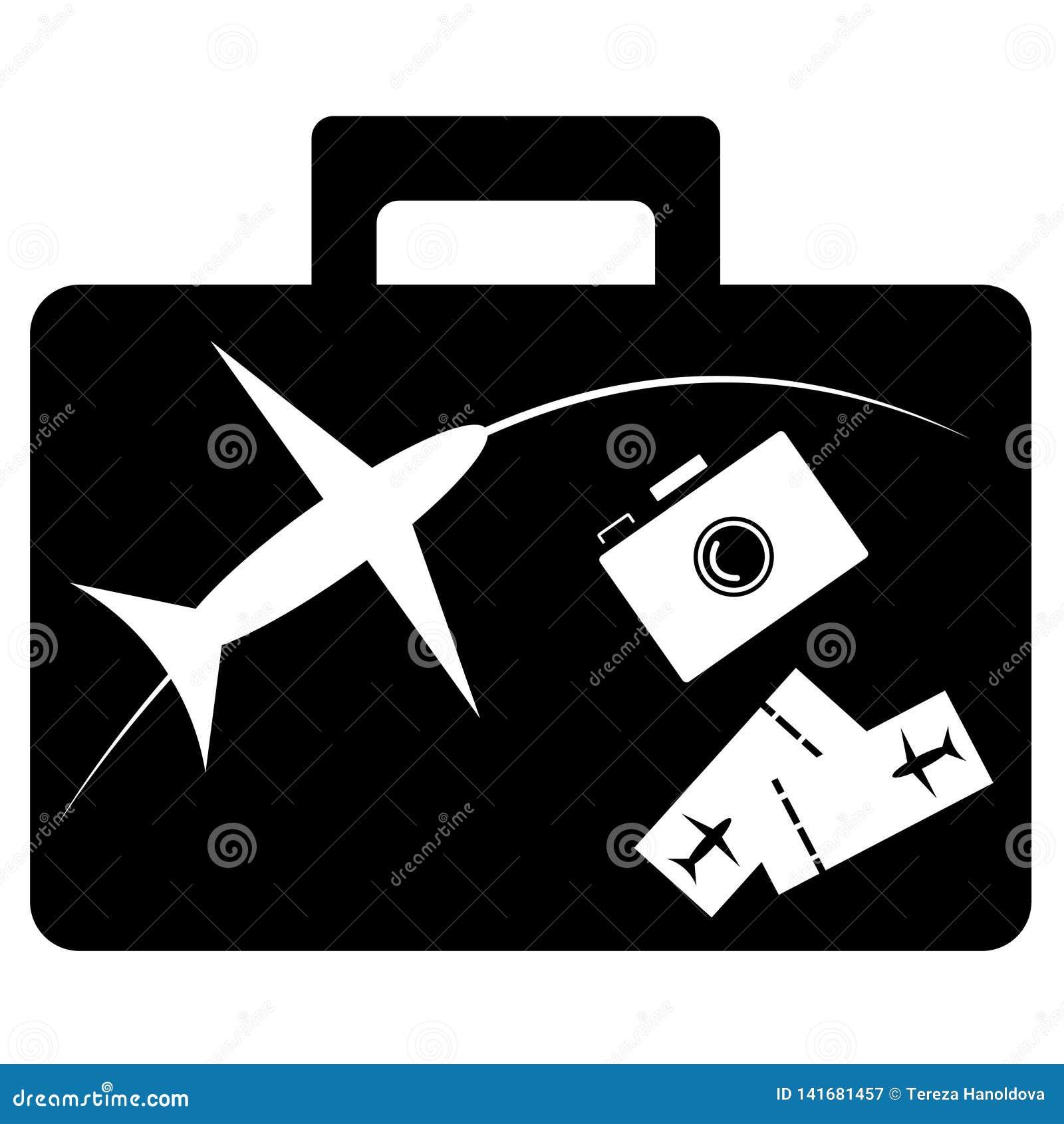 Перемещение - знак и символы для путешествовать концепция