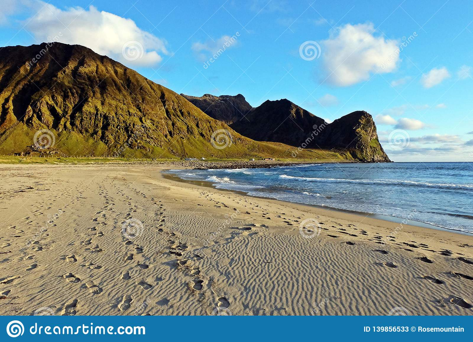 Пляж на островах Lofoten