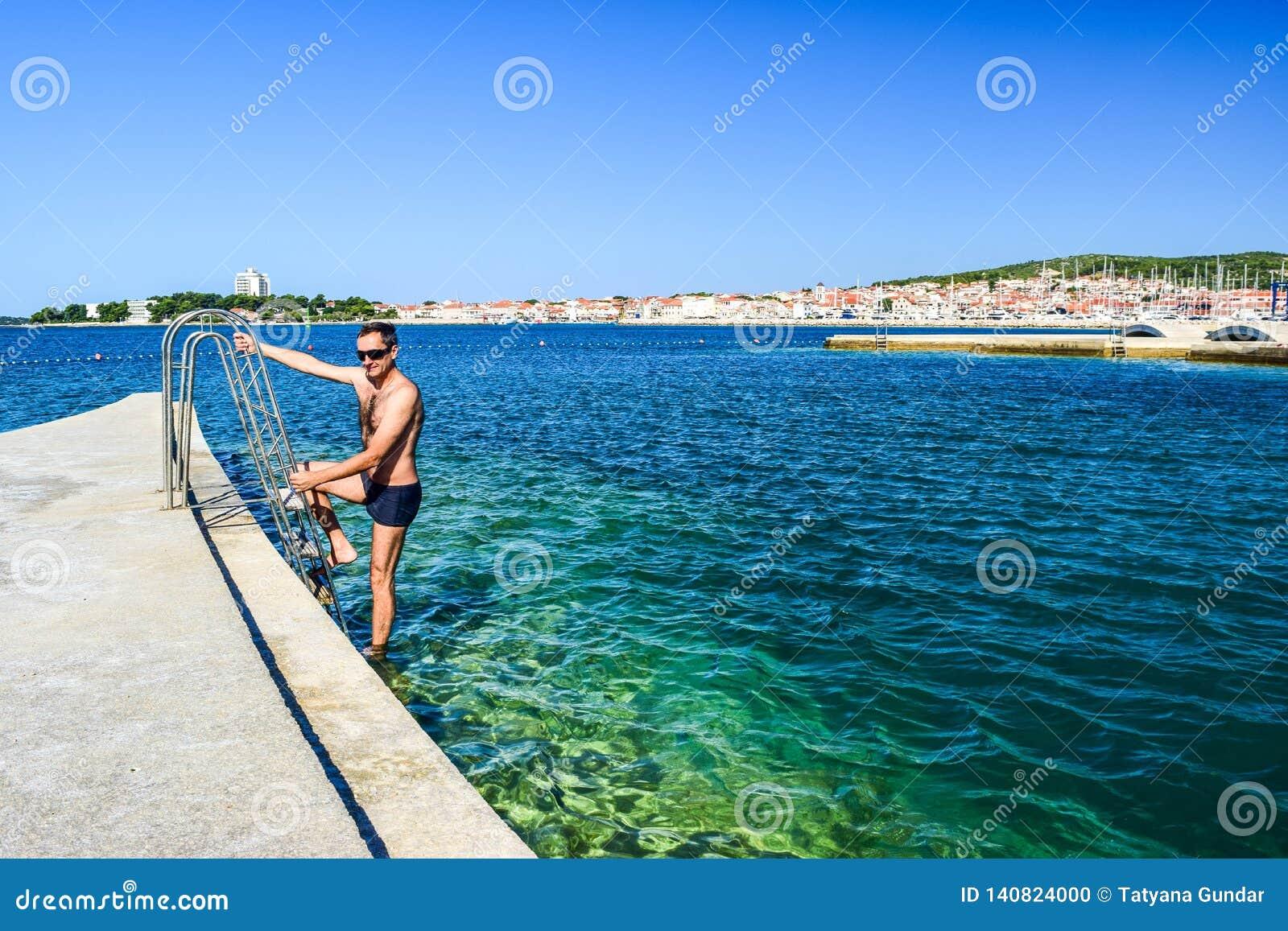 Пляж Vodice, Хорватия
