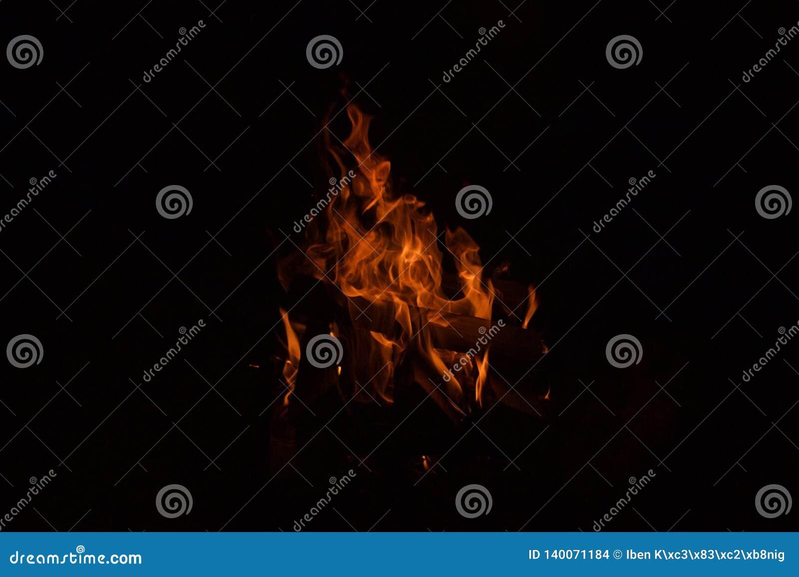 Пожар в темноте