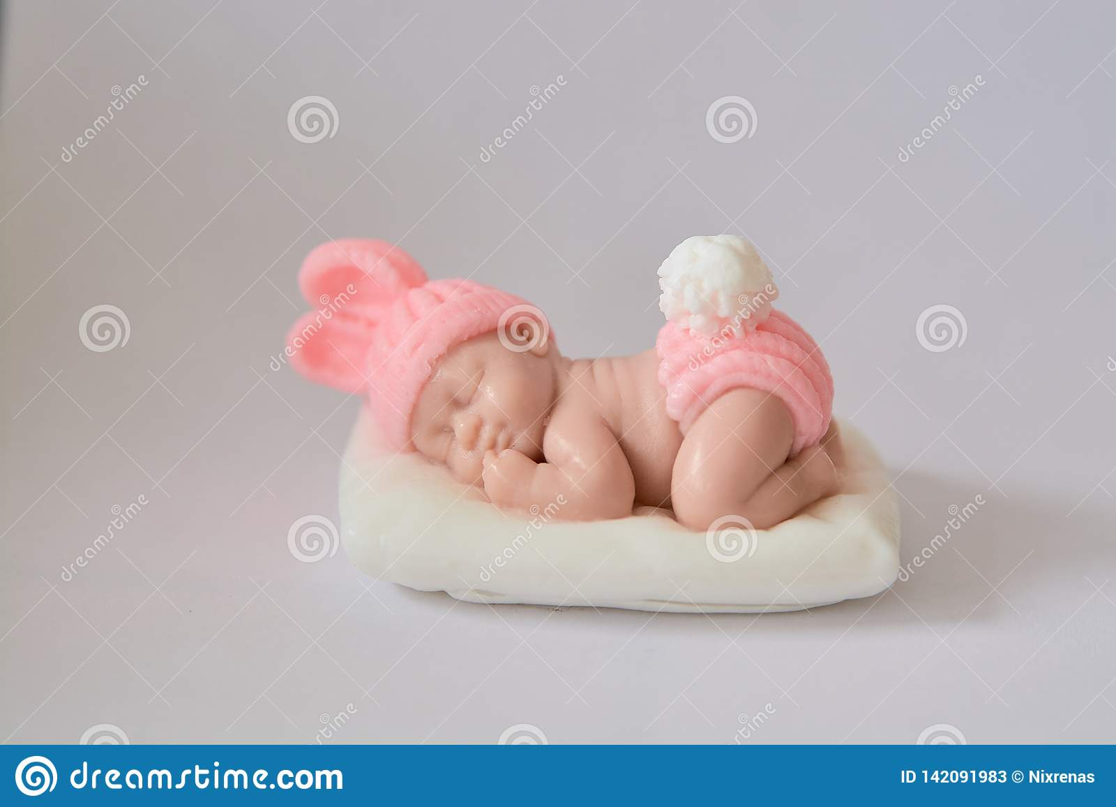 Подарок мыла в форме newborn ребенка
