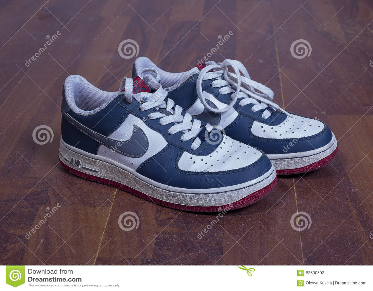 nike air force tło