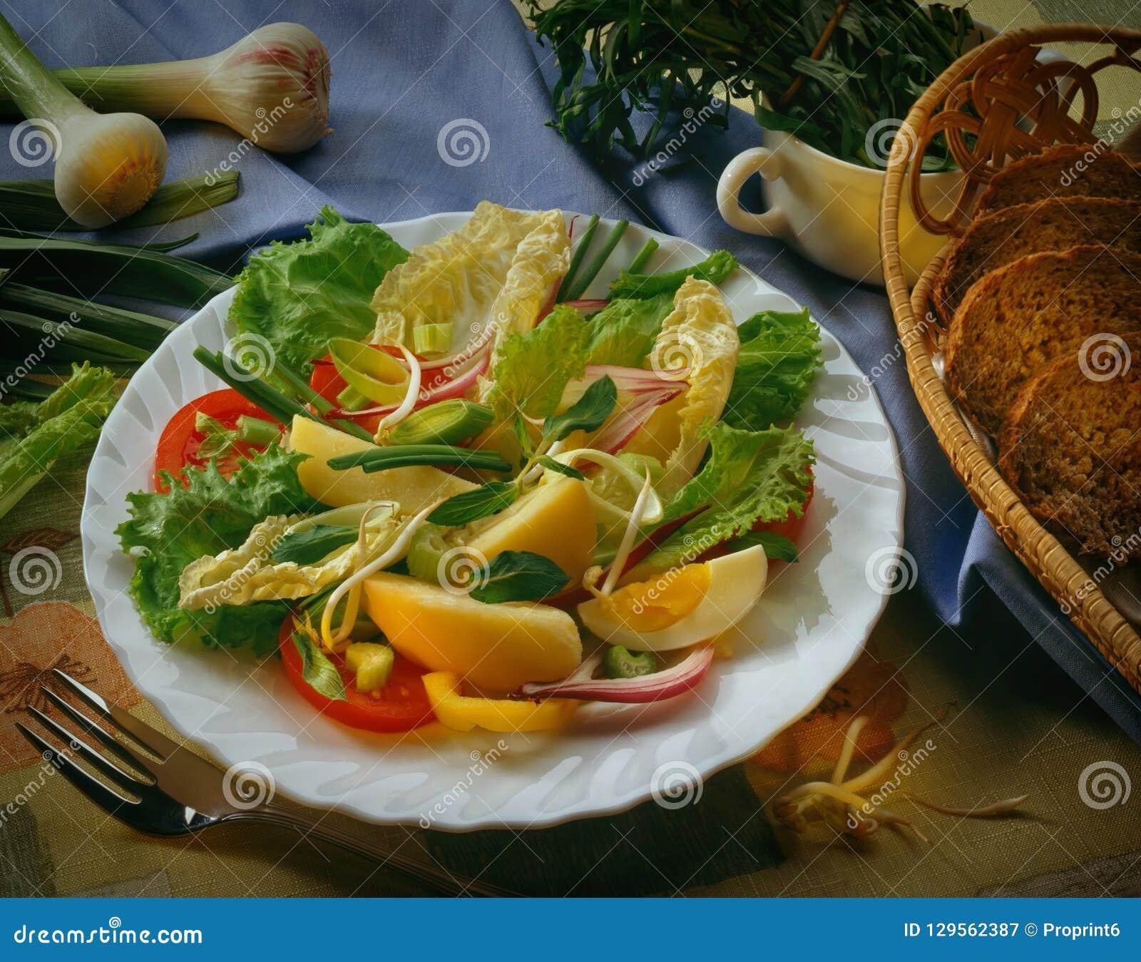 Ð ¡ аГ Ð°Ñ 'из Plantaardige Salade Ð ¾ Ð ² Ð ¾ Ñ ‰ Ð?Ð ¹