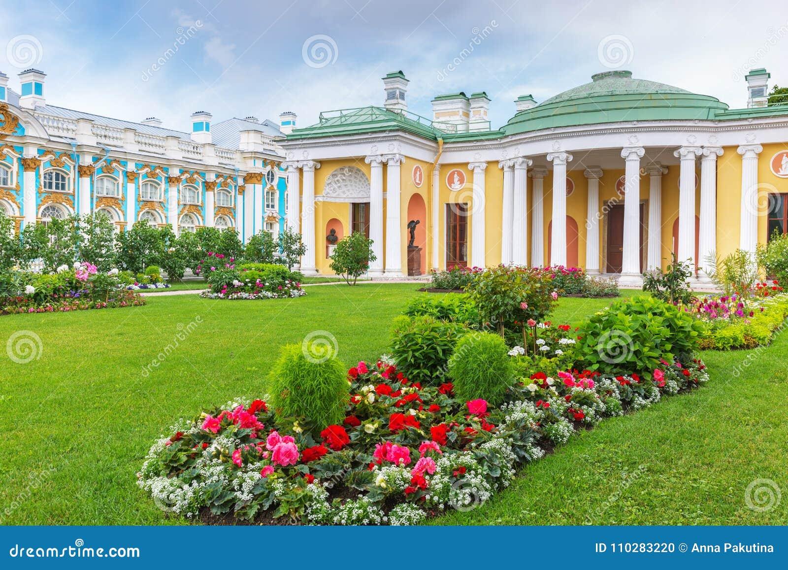 Ð ¡ stary skąpanie z sławnymi agatów pokojami w Catherine parku, Tsarskoye