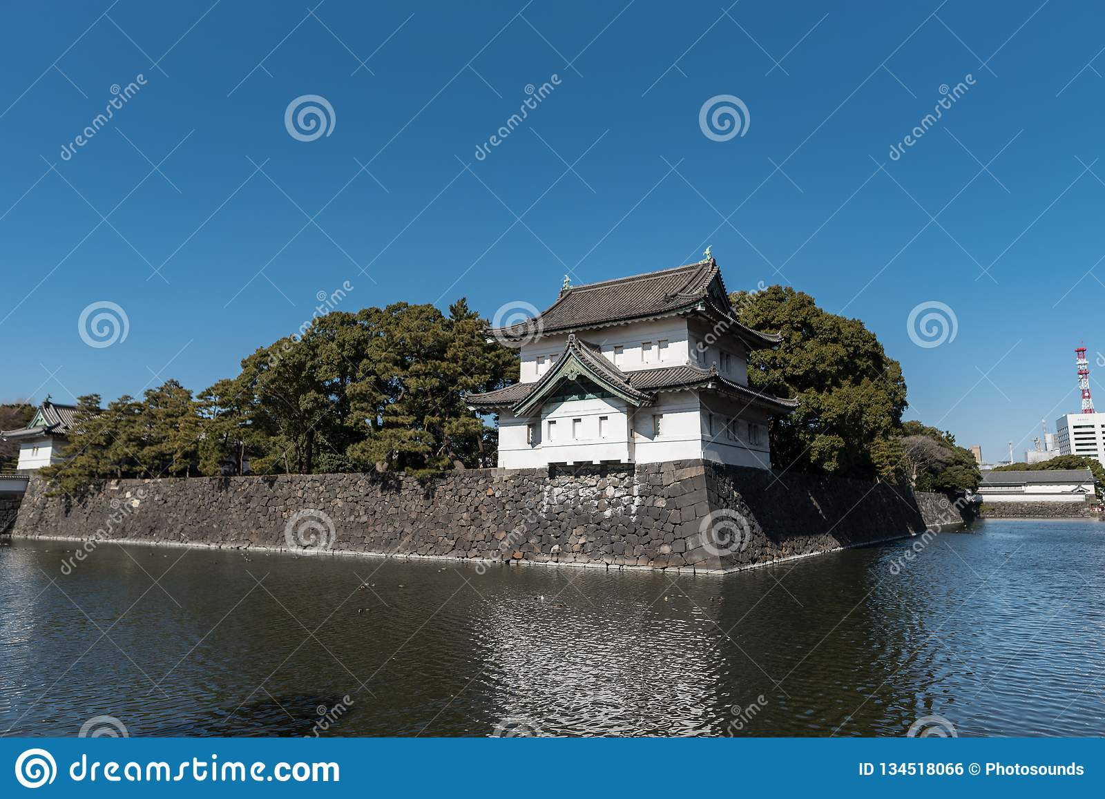 Дворец в Токио, Япония Токио имперский