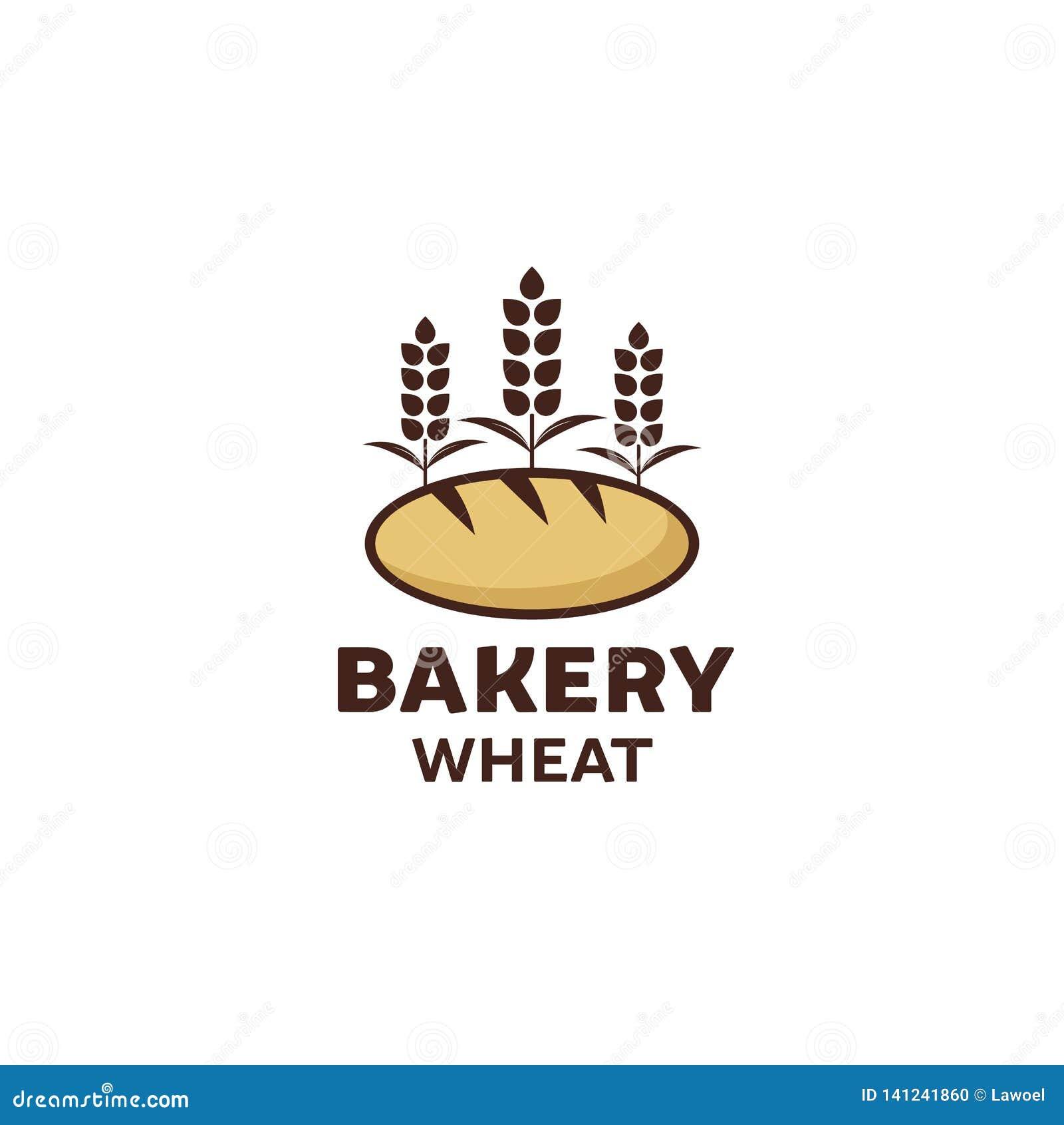 Дизайн логотипа пекарни, наградное качество, винтажный стиль
