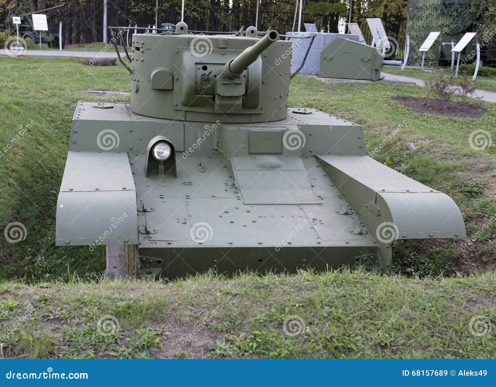 Т- 46-1- płomienia miotacza Odwracalny lekki zbiornik, 1936 (USSR) Weig