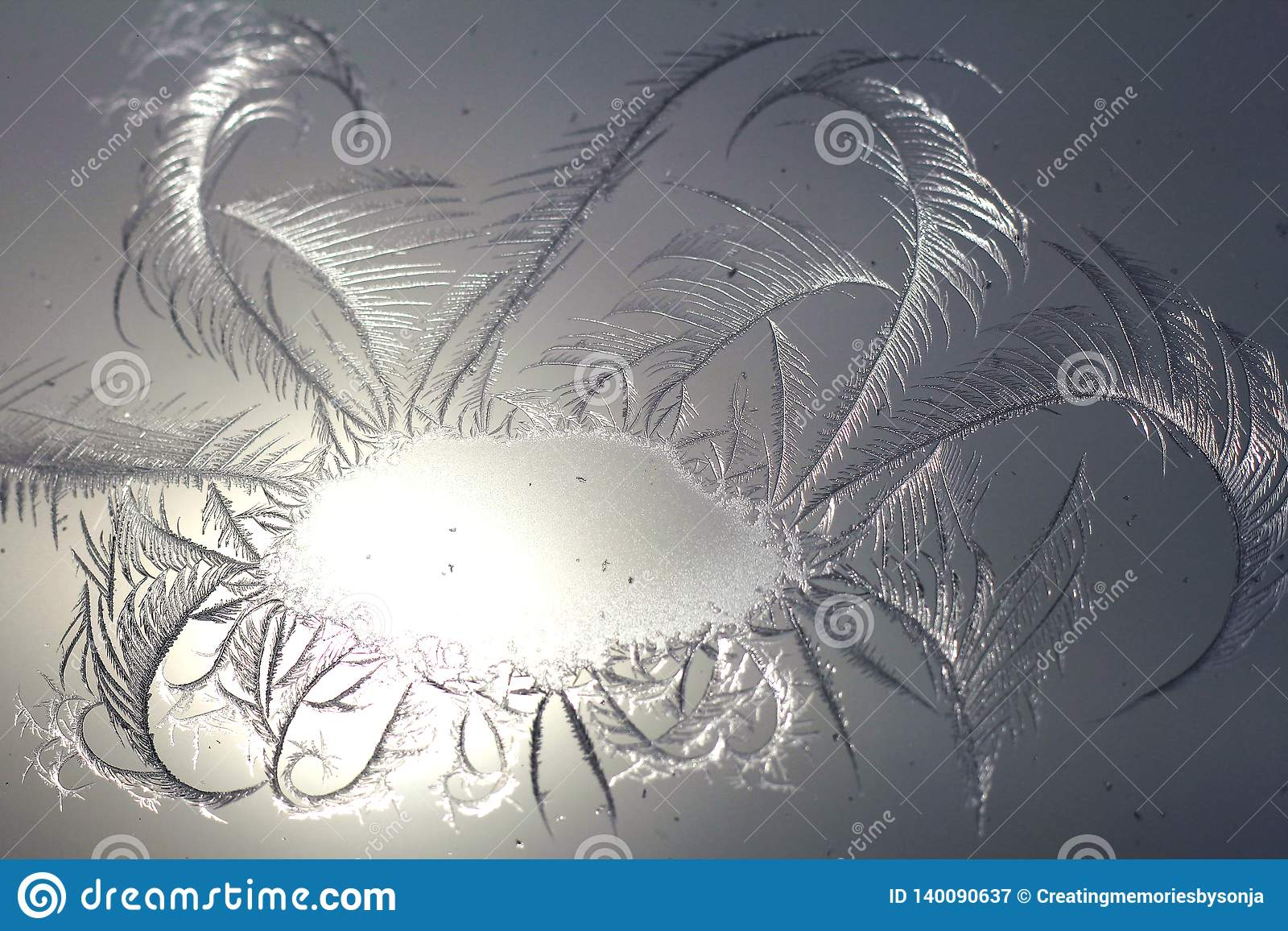 Сверкная окно Frost Swirly