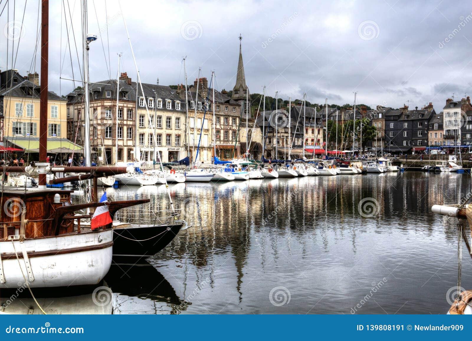 Старый порт Honfleur