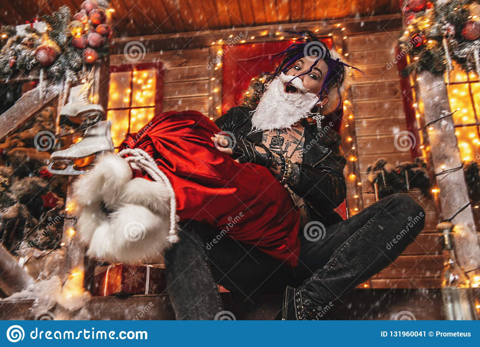 Fooling around santa