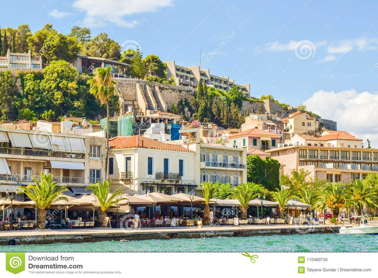 Сityscape of Nafplion