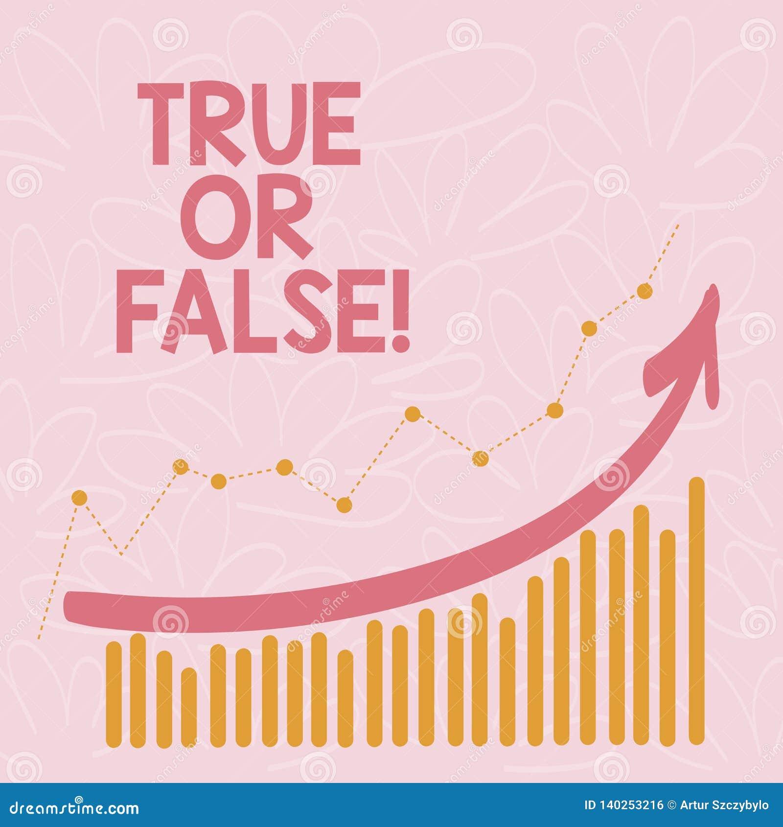 Текст сочинительства слова истинный или ложный Концепция дела для Decide между фактом или говорить запутанность сомнения лож