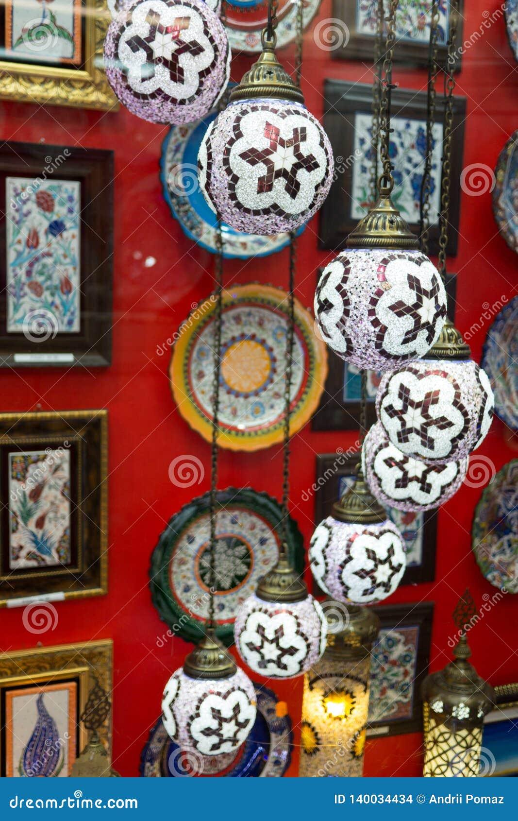 Традиционная персидская ручной работы лампа
