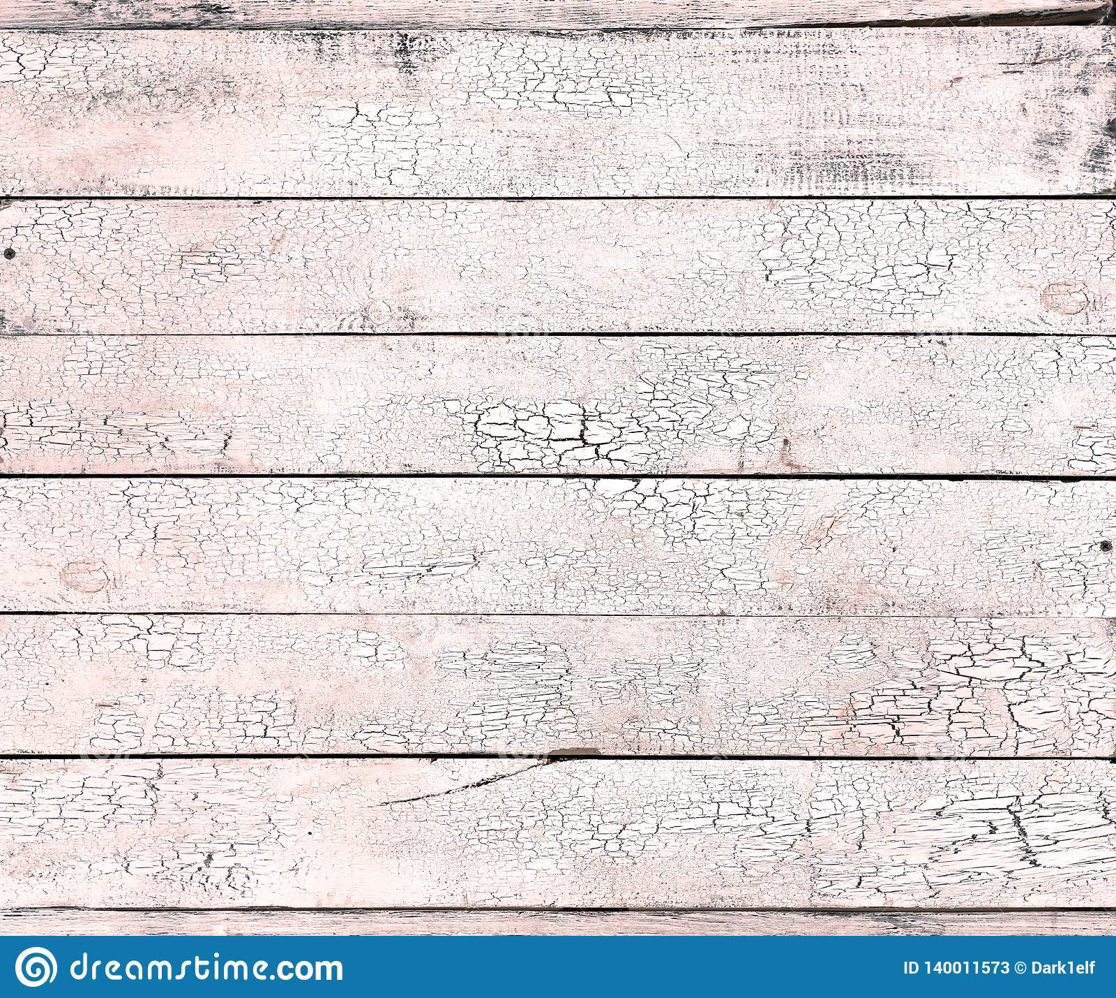 Треснутая краска на текстуре старой деревянной предпосылки коралла прожития света затрапезной