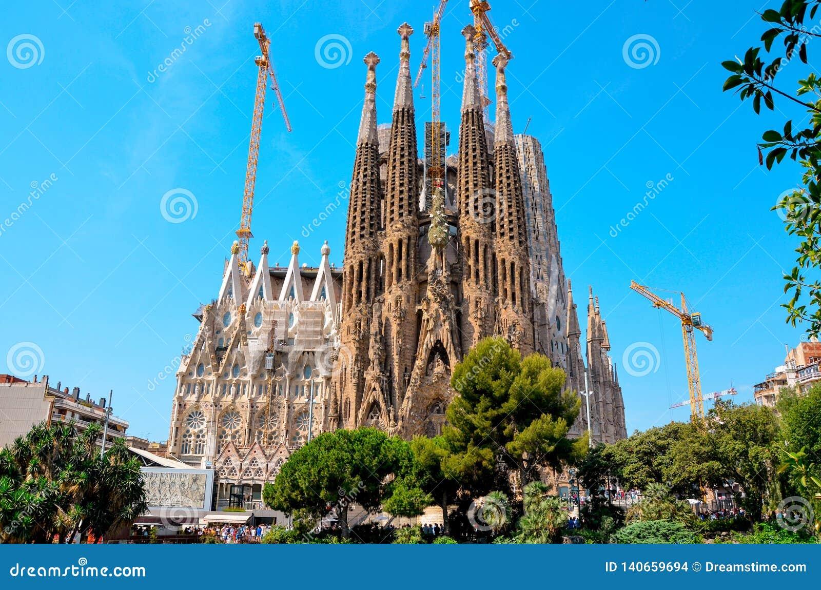 Работа на Sagrada Familia
