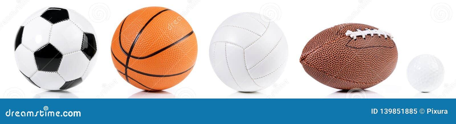 Различные шарики - панорама спорта