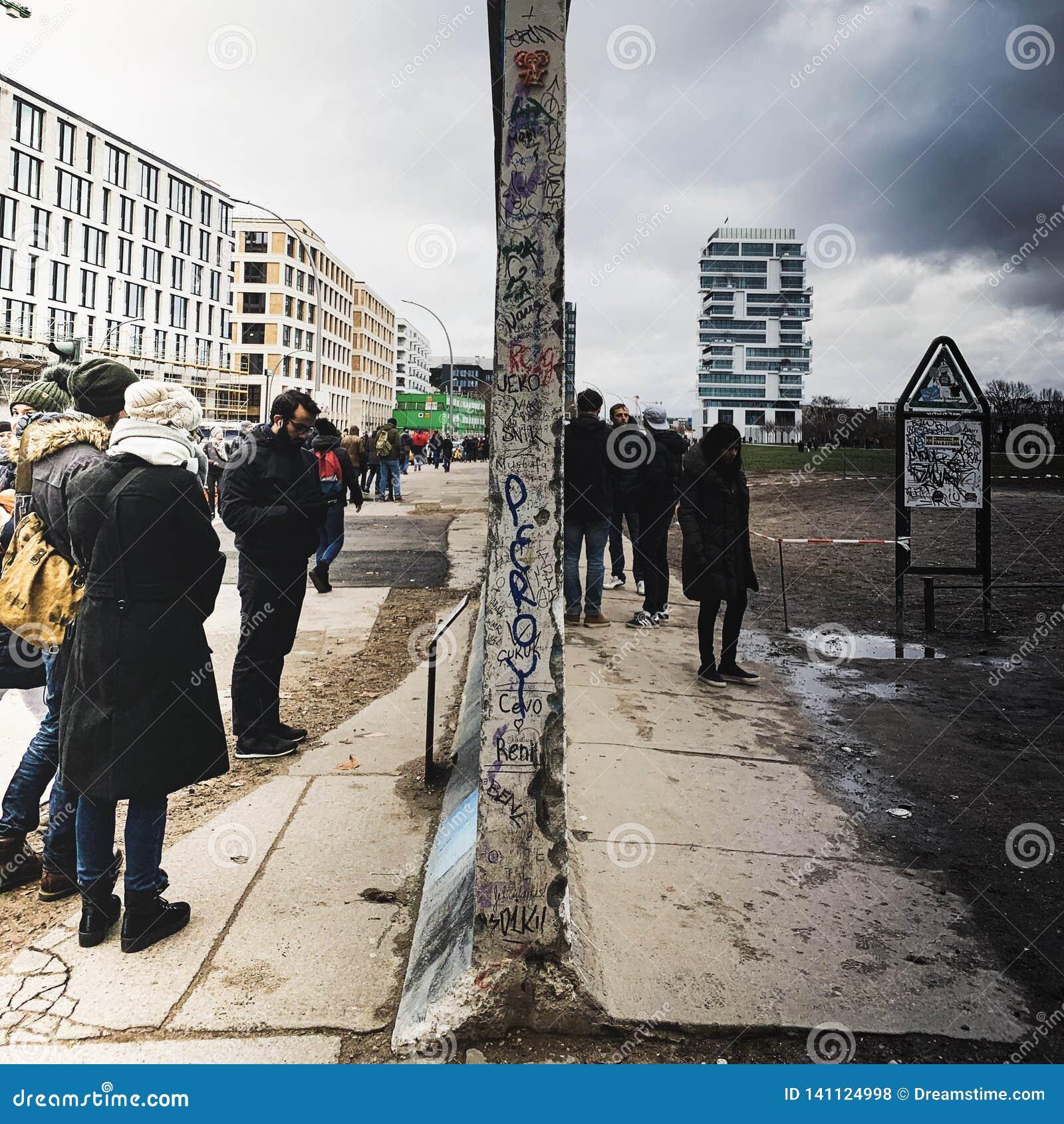 Разделение Германии Берлинской стены