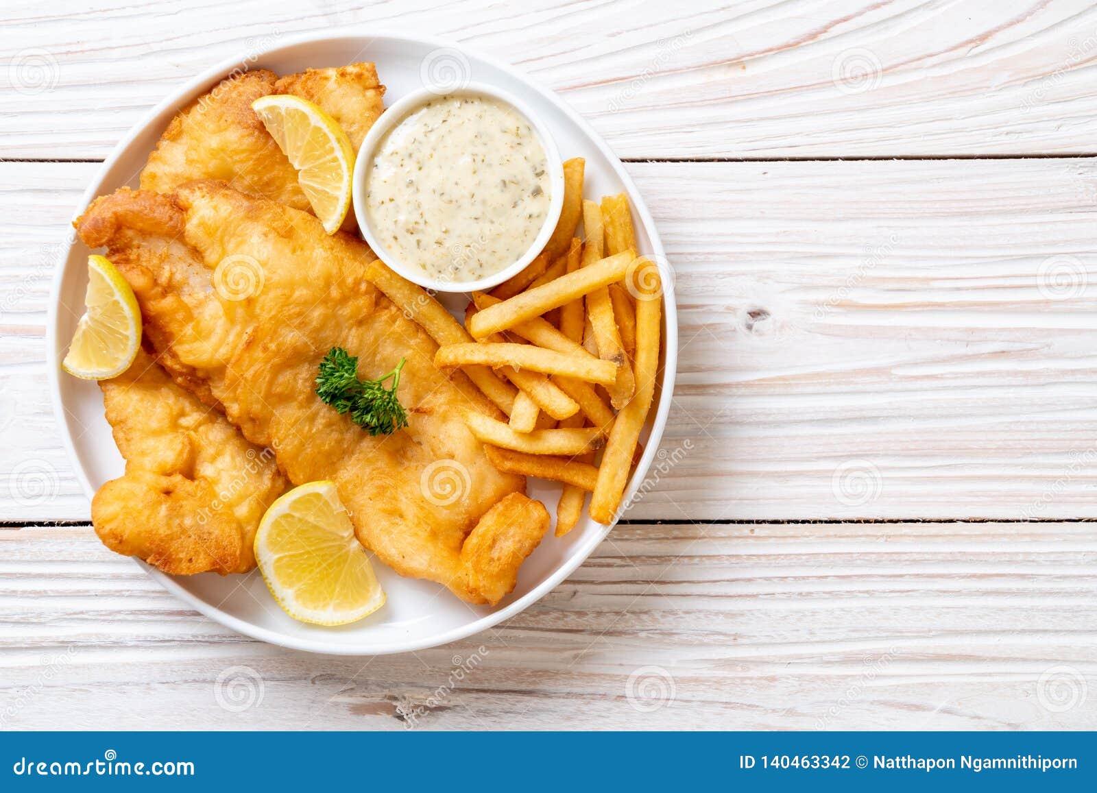 Рыбы и обломоки с французскими фраями