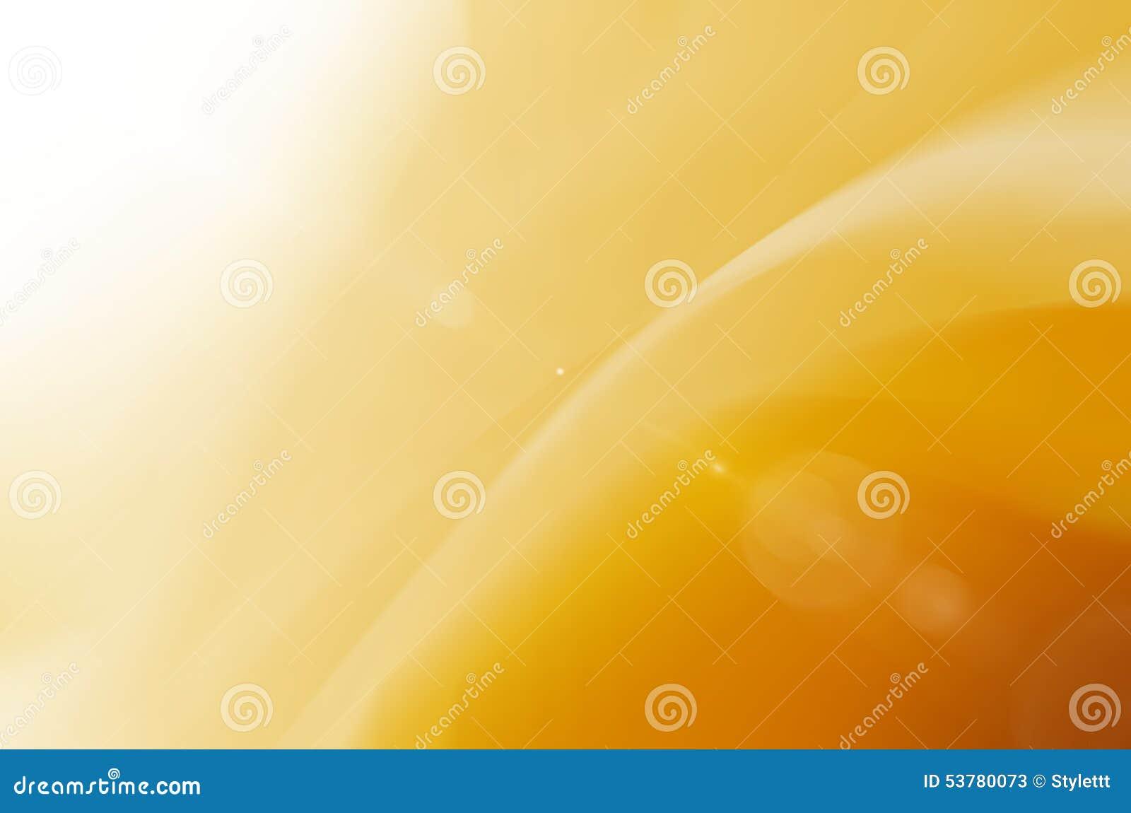Żółty abstrakta i światła słonecznego backgroud