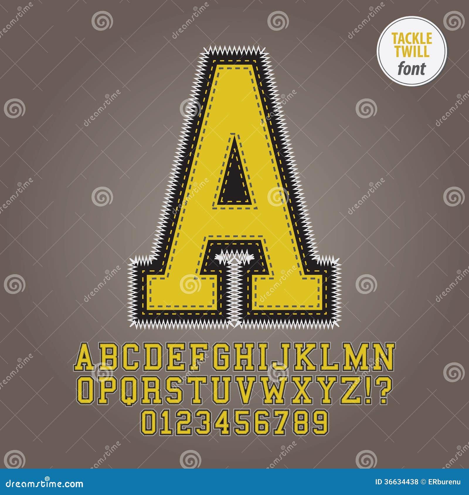 Żółty sprzętu diagonalu abecadło i cyfra wektor