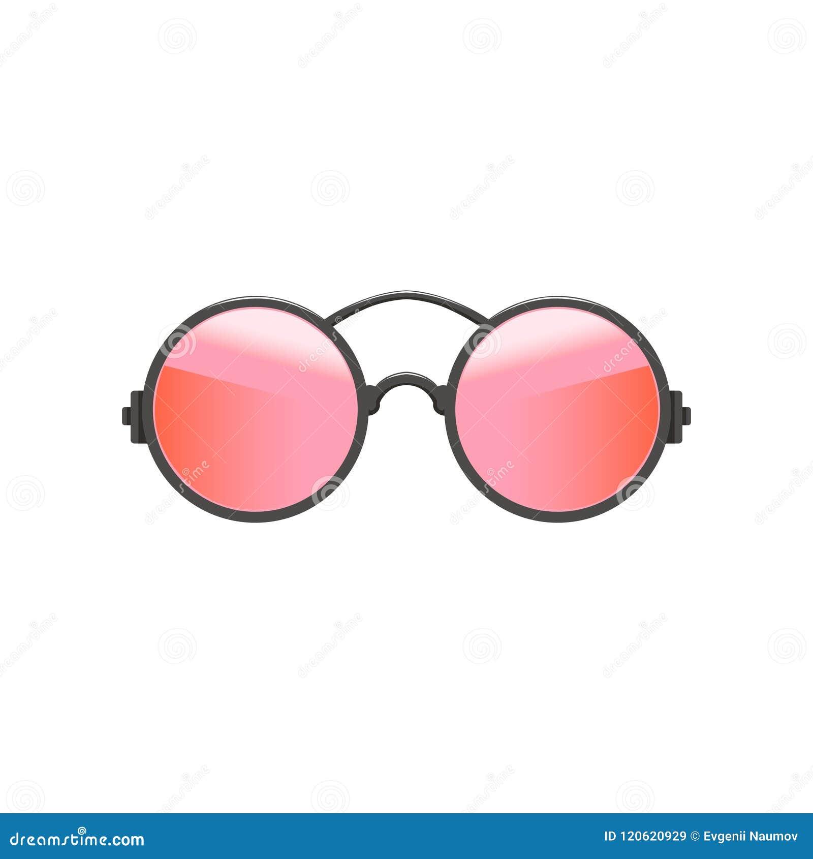 ea60be3cfd816 Óculos de sol circulares redondos do moderno com lentes vermelho-cor-de-rosa