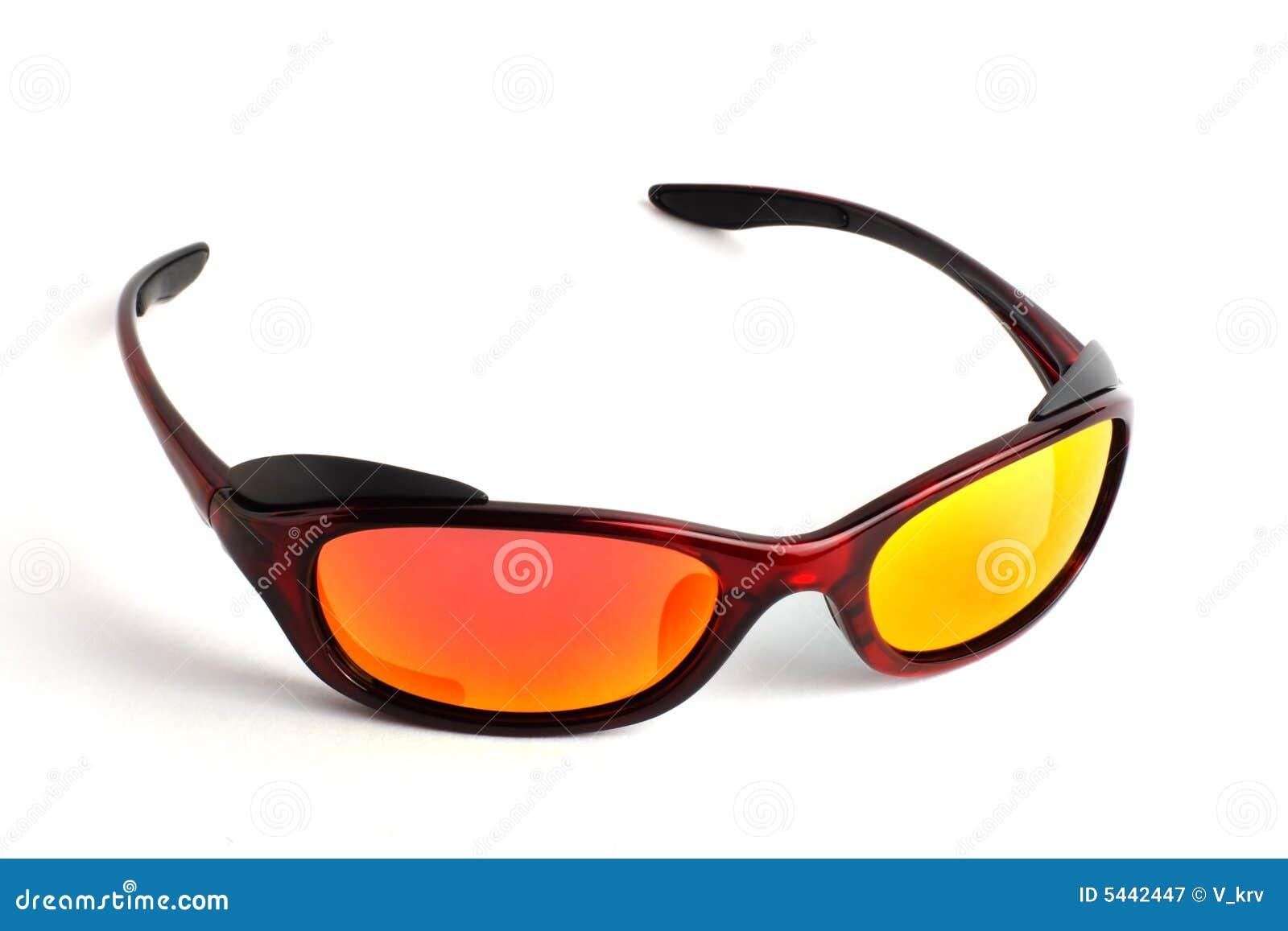 97bee2a1c5720 Óculos De Sol Modernos Com Lentes Polarizadas Imagem de Stock ...