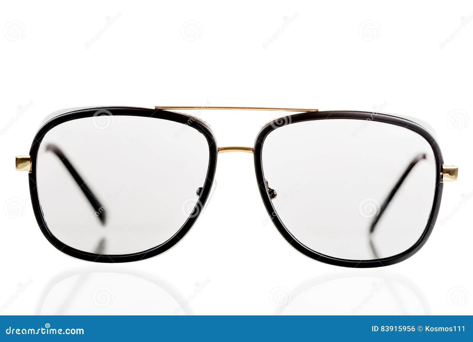 Óculos De Sol Pretos Em Um Estilo Retro Em Um Fundo Branco Foto de ... afe8864cf6