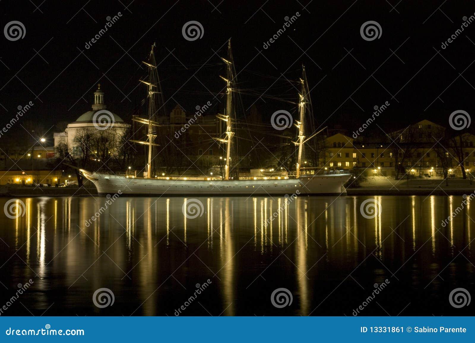 łódkowata noc