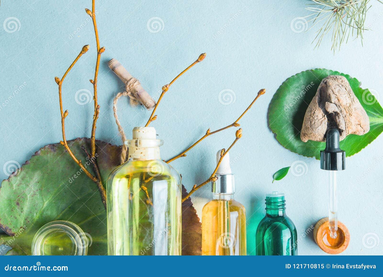 Óleos homeopaticamente, suplementos dietéticos para os cosméticos naturais da saúde intestinal, óleos para cuidados com a pele em