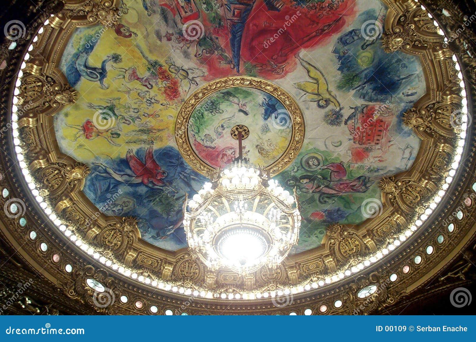 Ópera magnífica de París