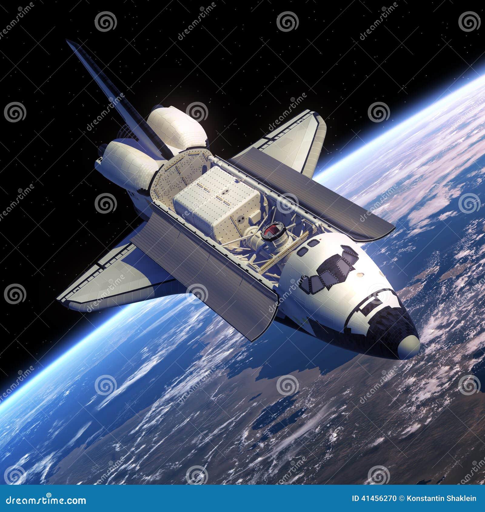 Órbita del transbordador espacial