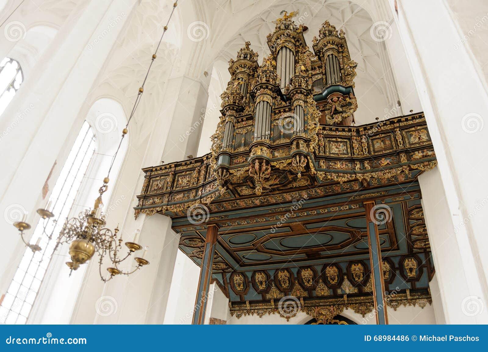 Órgão de Merten Friese