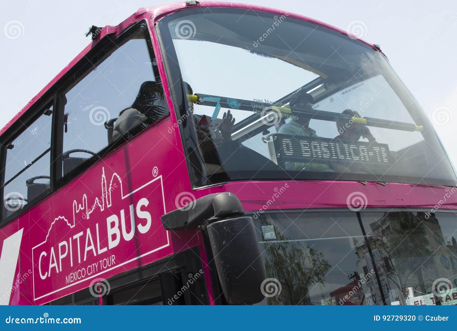 Ônibus de excursão principal Cidade do México