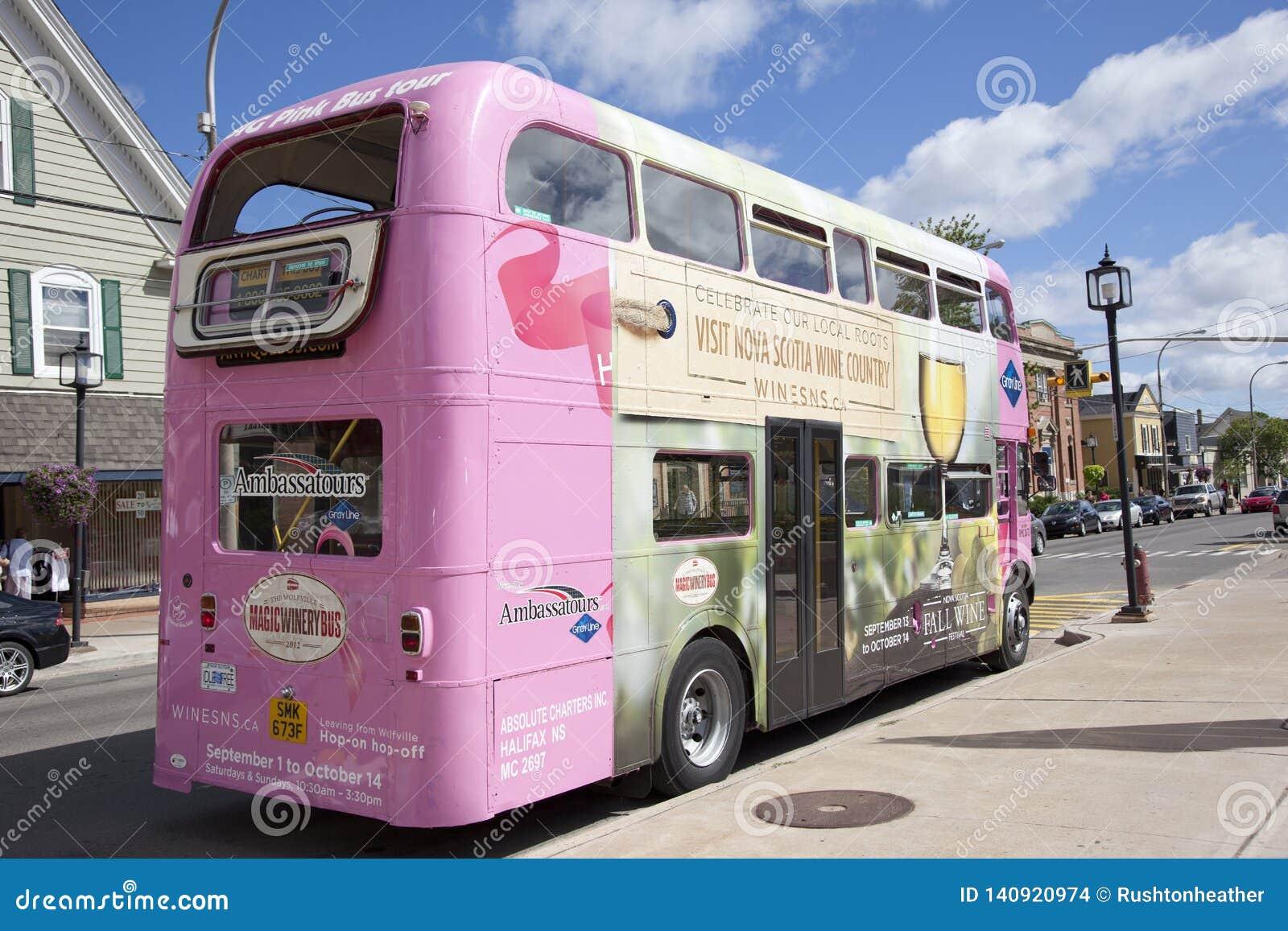 Ônibus mágico do vinho