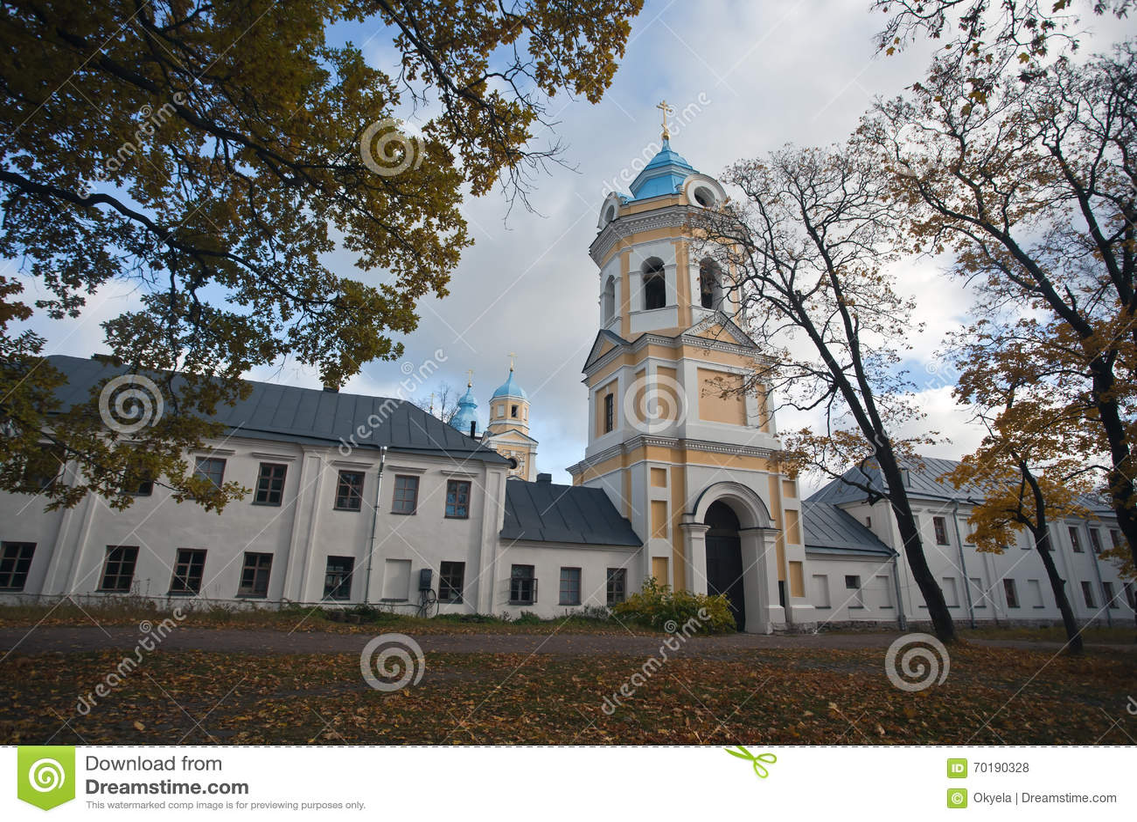 Ö Konevets på Lake Ladoga Konevsky kloster