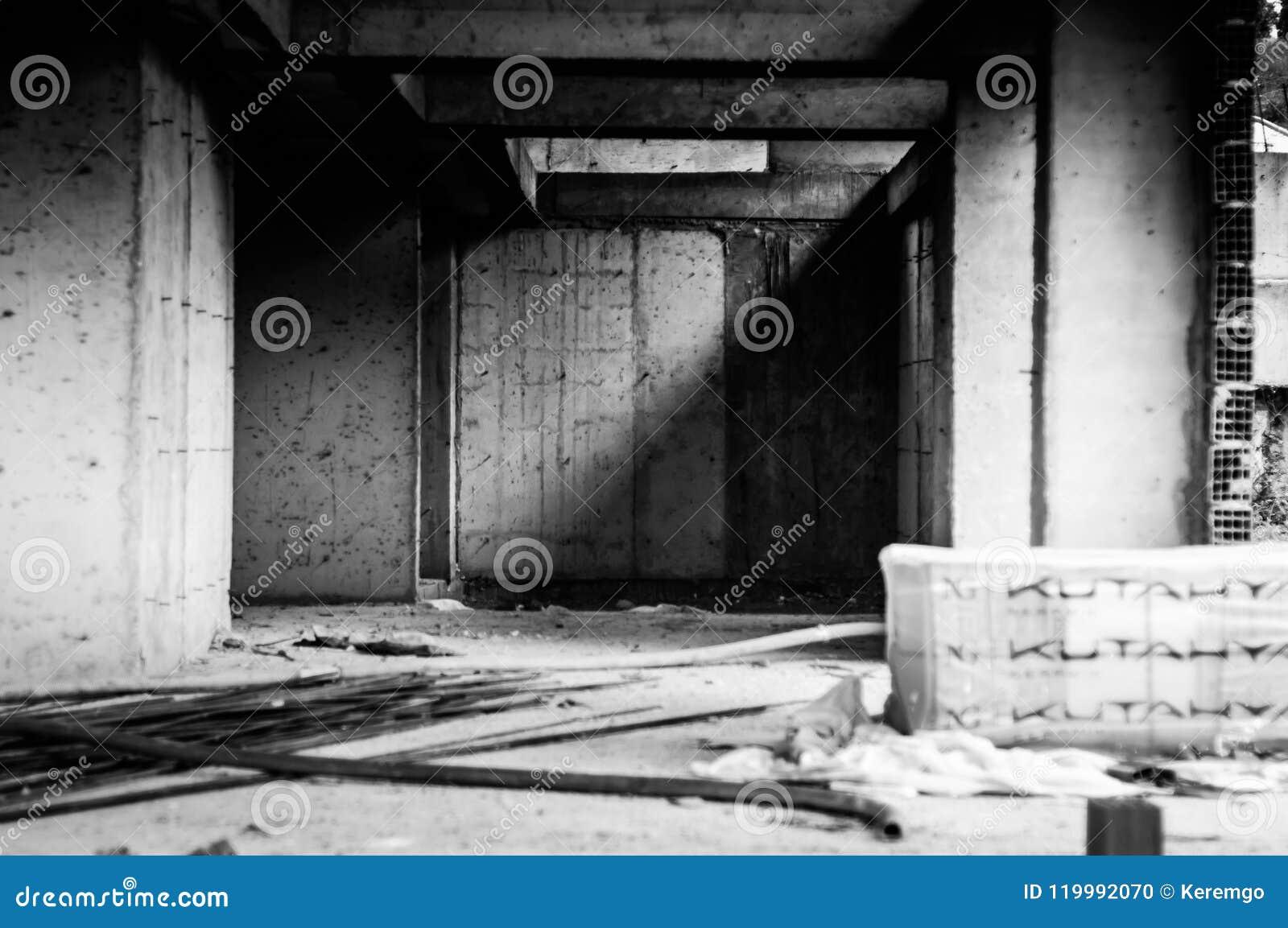 Ödelagd byggnadskonstruktion - Turkiet