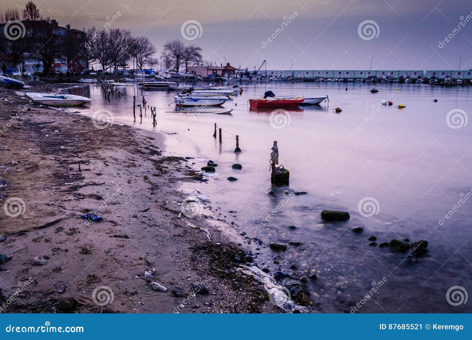 Ödelagd havsport