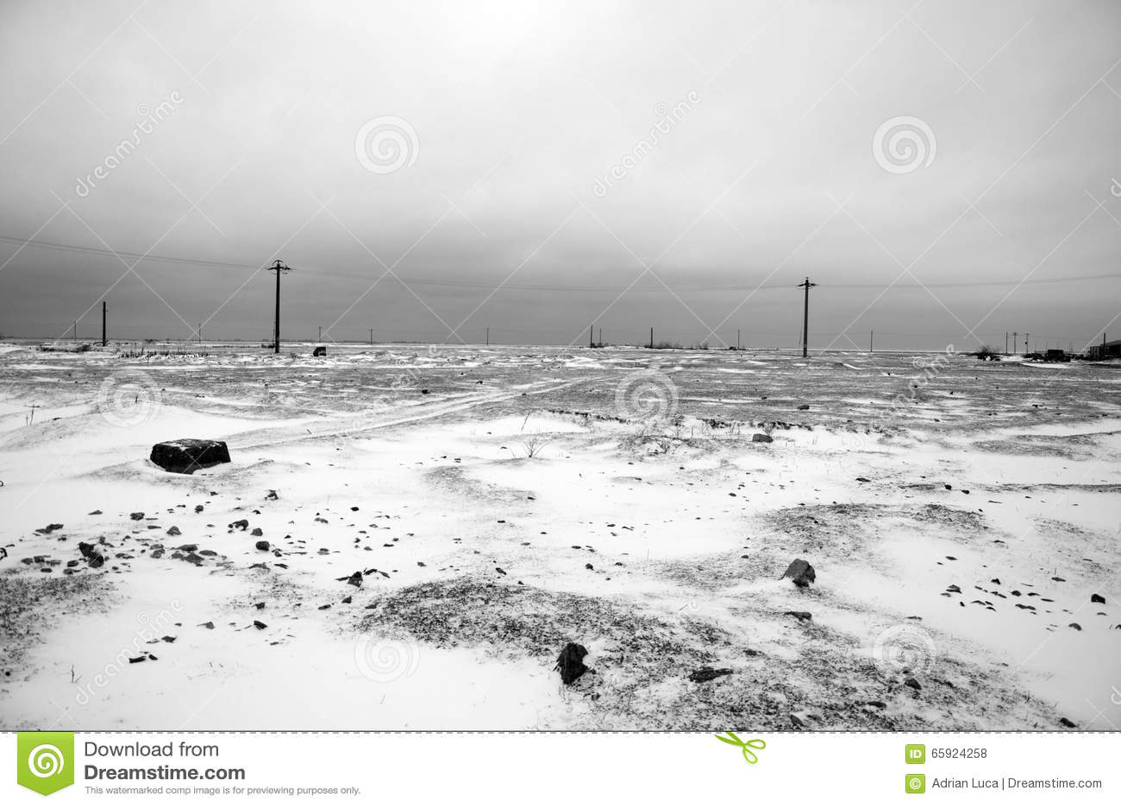 Ödelagd vinter
