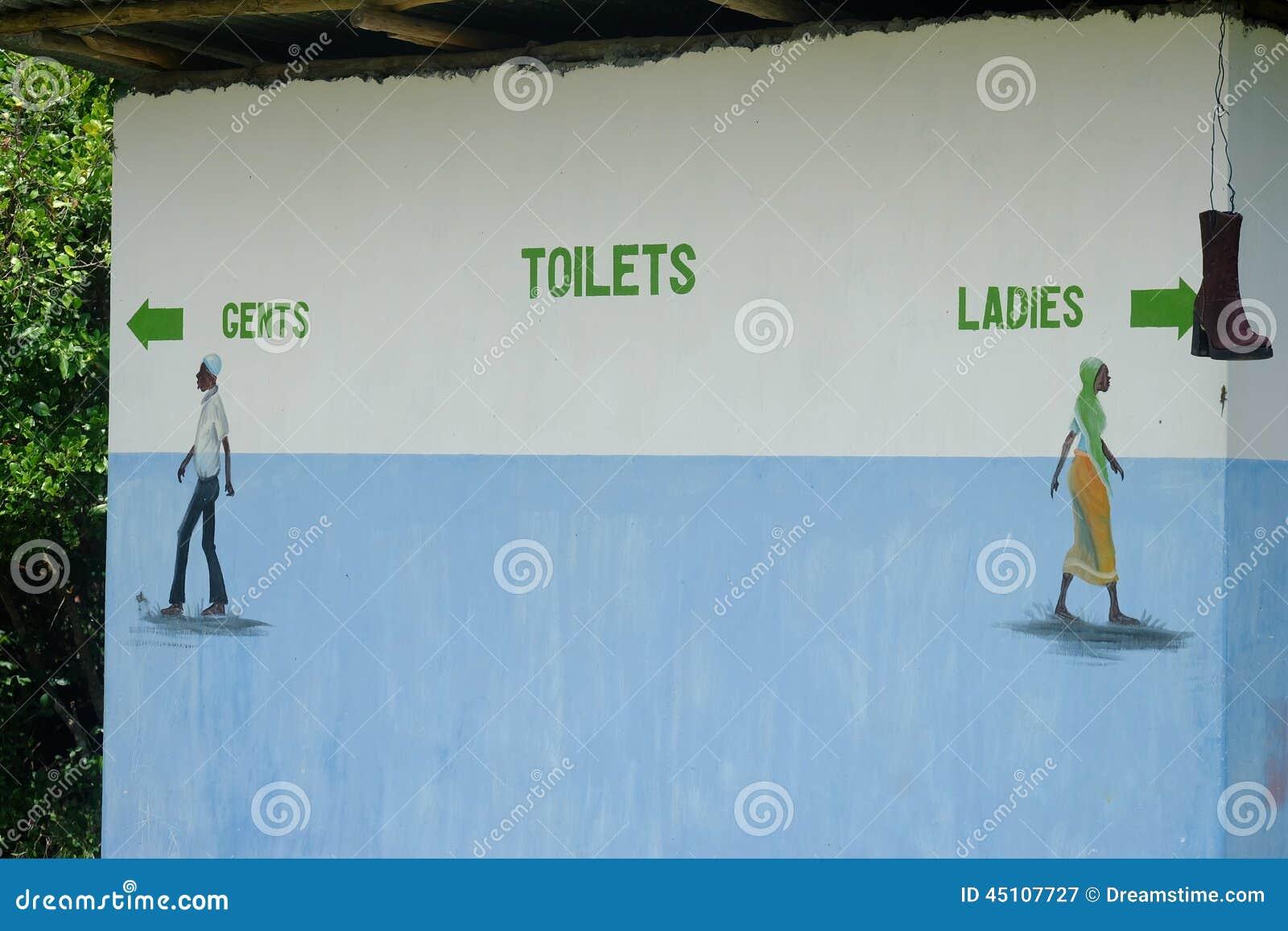 Öffentliche Toiletten In Sansibar Stockfoto - Bild: 45107727 Offentliche Toilette Park Landschaft