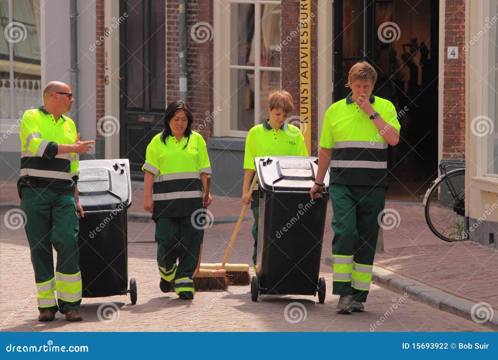 Öffentlicher Reinigungsdienst