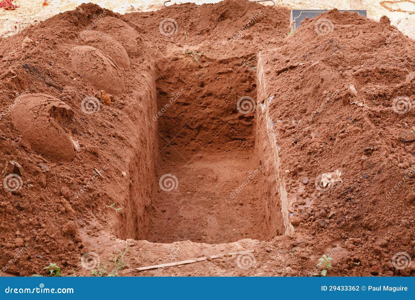 Öffnen Sie Grab