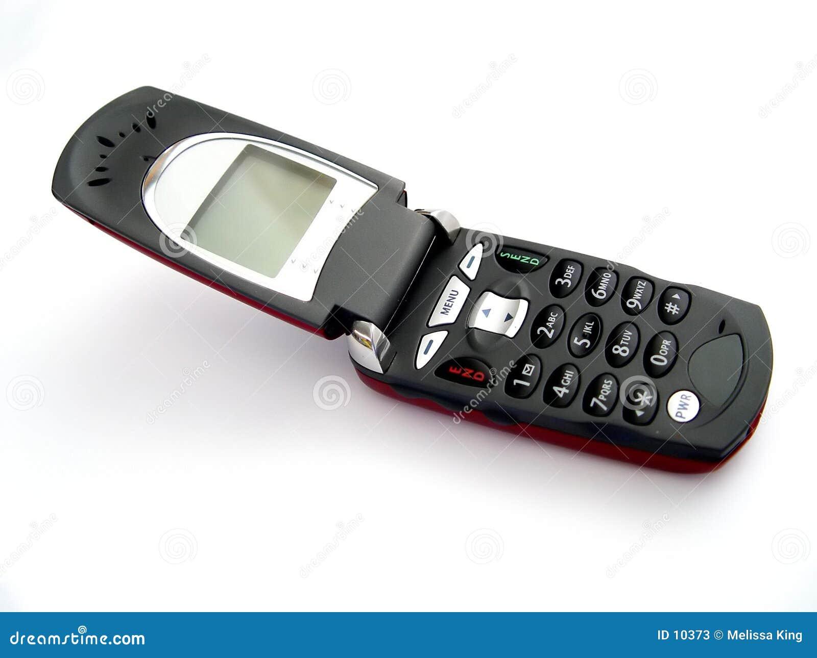 Öffnen Sie Mobiltelefon