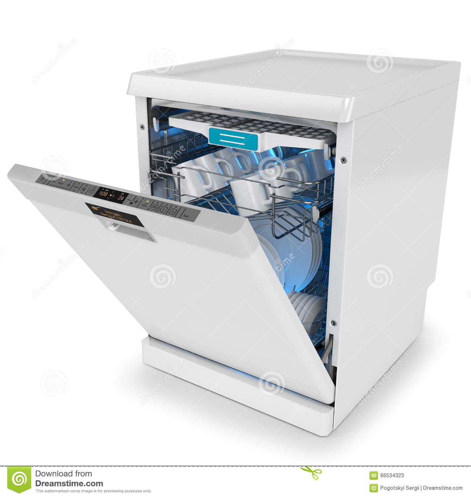 spülmaschine öffnen